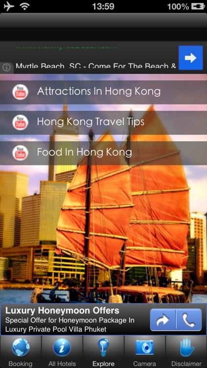 Hong Kong Hotels Discount Booking screenshot-3