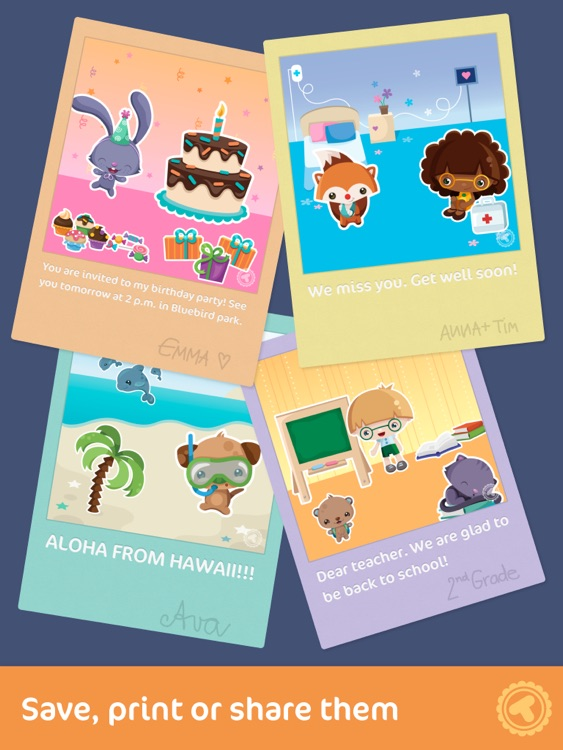 Toonia Cardcreator - Create, Print & Send Personalized Greeting Cards