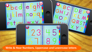 ABC Letter Toy – Letters & Numbers Handwriting Game for Kids screenshot one