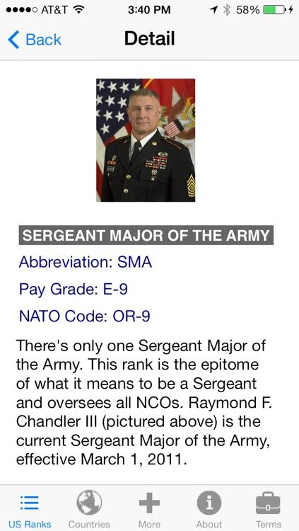 Military Ranks screenshot-4
