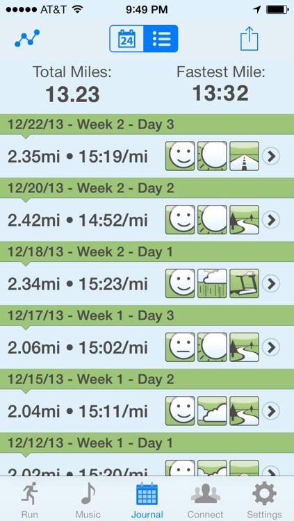 Ease into 5K: run walk interval training program screenshot-3
