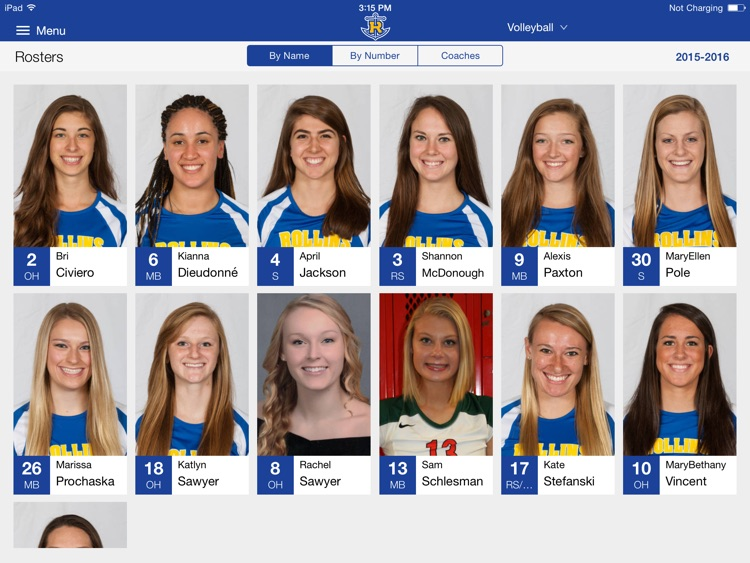 Rollins College Athletics for iPad 2015 screenshot-2