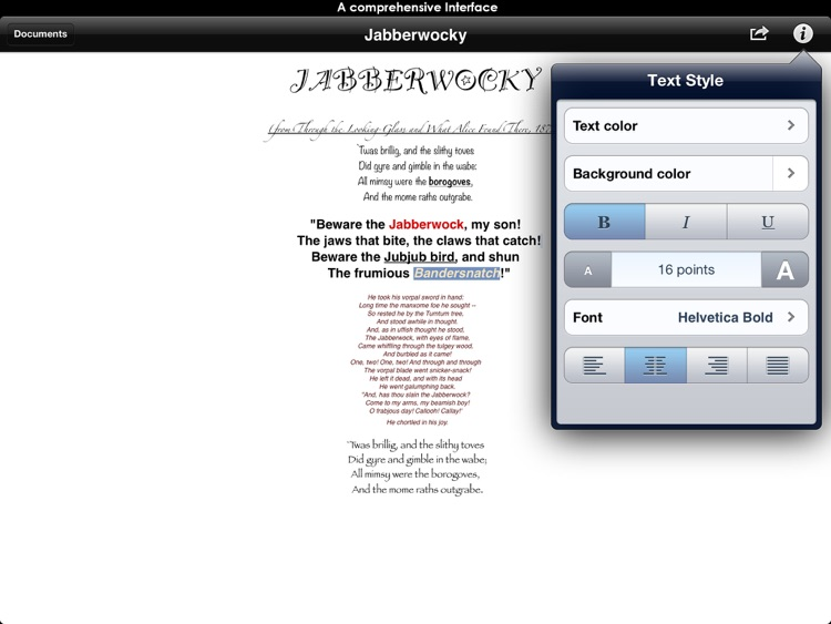 Notable word processor - Cross-platform RTF Editor for Microsoft Word & Apple Pages & Open Office