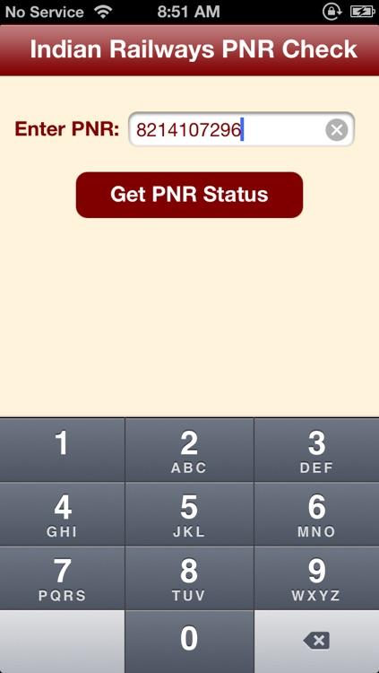Pnr Status Check Online