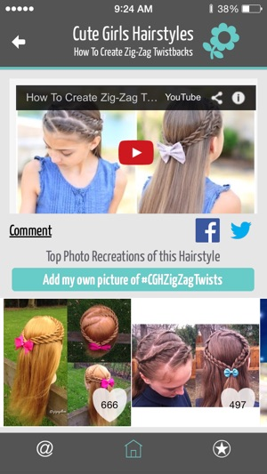 Cute Girls Hairstyles On The App Store