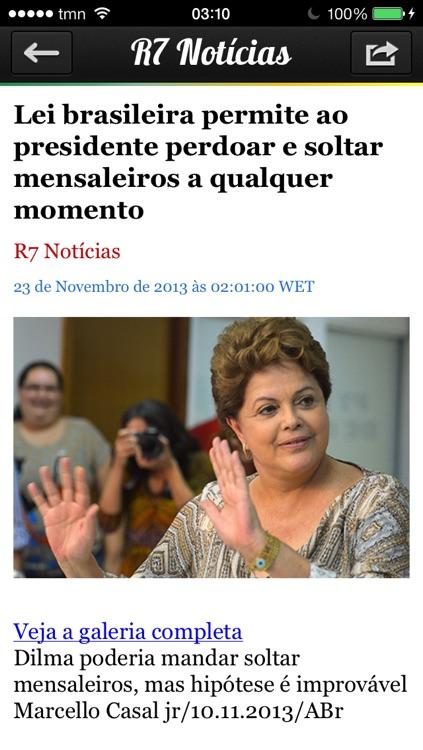iBrasil Pro - Notícias do Brasil screenshot-3