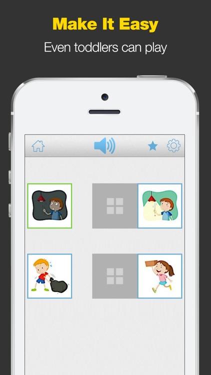 Opposites - Toddler Matching Games
