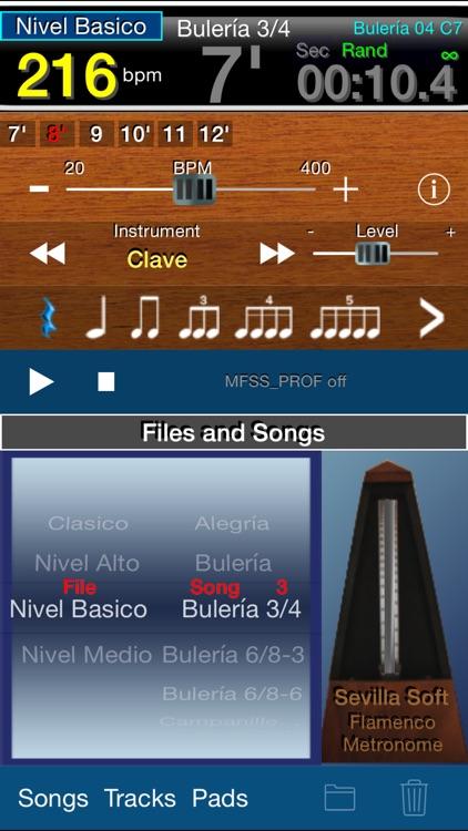 Flamenco Metronome Sevilla Soft