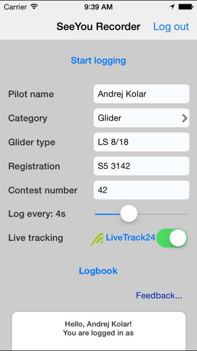 Screenshot #2 pour SeeYou IGC Flight Recorder