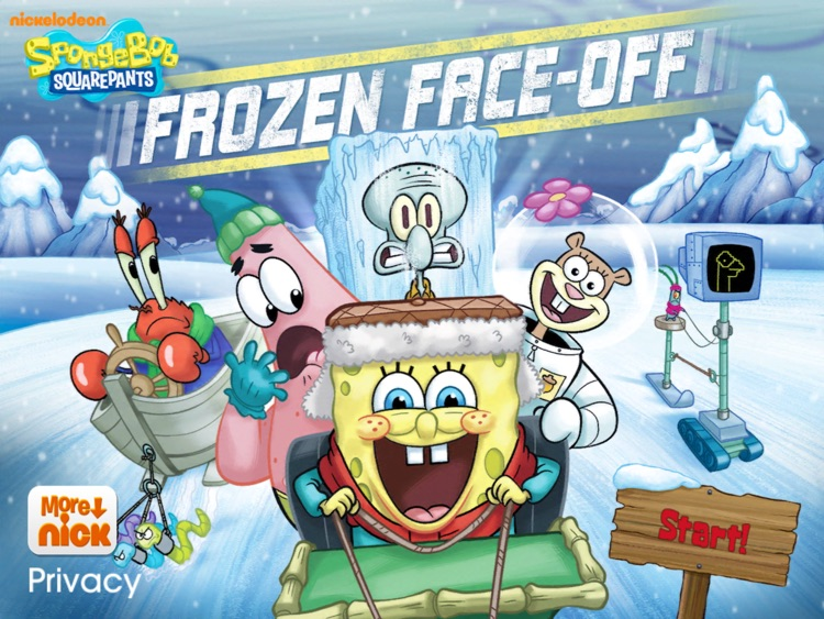 SpongeBob Frozen Face Off HD