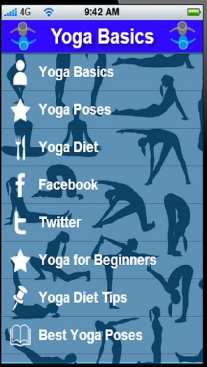 Yoga Basics:Learn the Basics of Yoga for a Healthy Body Mine and Spirit+ screenshot-0