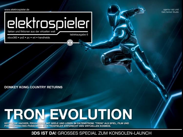 "elektrospieler ""Tron Evolution""-Edition"