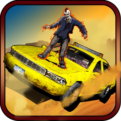 3D Zombies Shooter Car Highway Racing Game - FREE