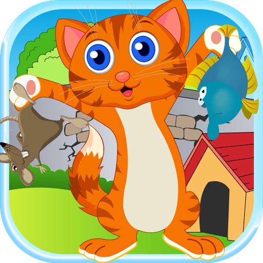 Kitty Jump For Mice - Happy Kitties Catapult Battle Pro