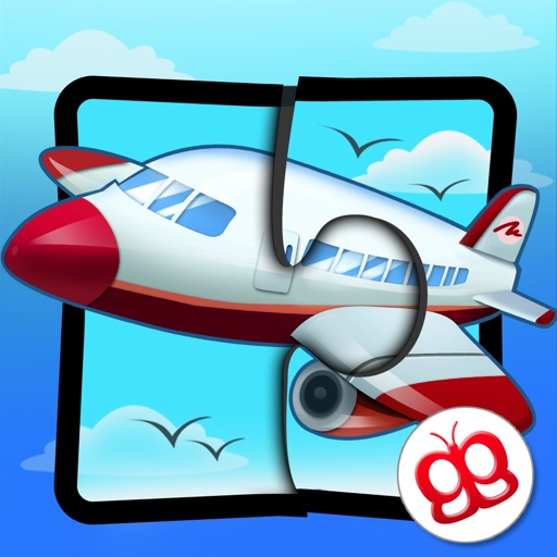 Transport Jigsaw Puzzles 123 for iPad - Fun Learning Puzzle Game for Kids