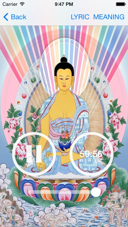 Buddha Mantra, buddha Chant for Meditation and Prayer screenshot-3