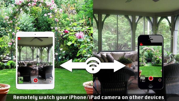 Air Camera - Transform your iPhone into a remote wifi camera