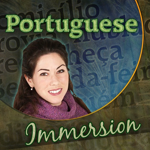 Portuguese Immersion - Learn to Speak & Talk Fast! Easy to Play Games, Quick Phrases & Essential Words