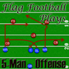 5-Man Flag Football Plays-Offense