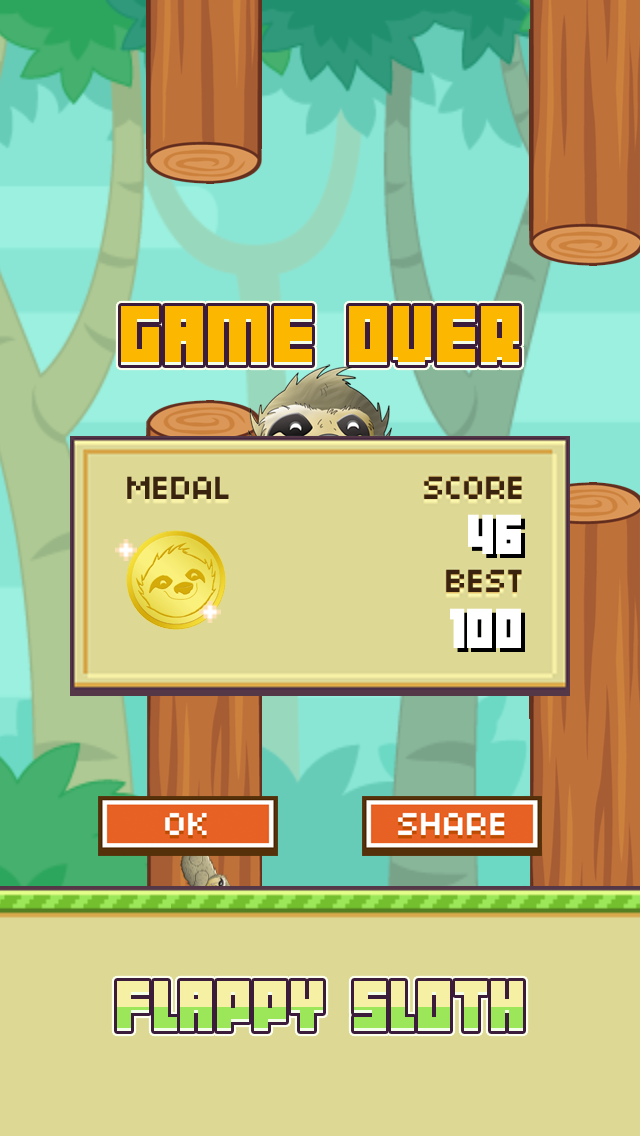 Flappy Slothのおすすめ画像5