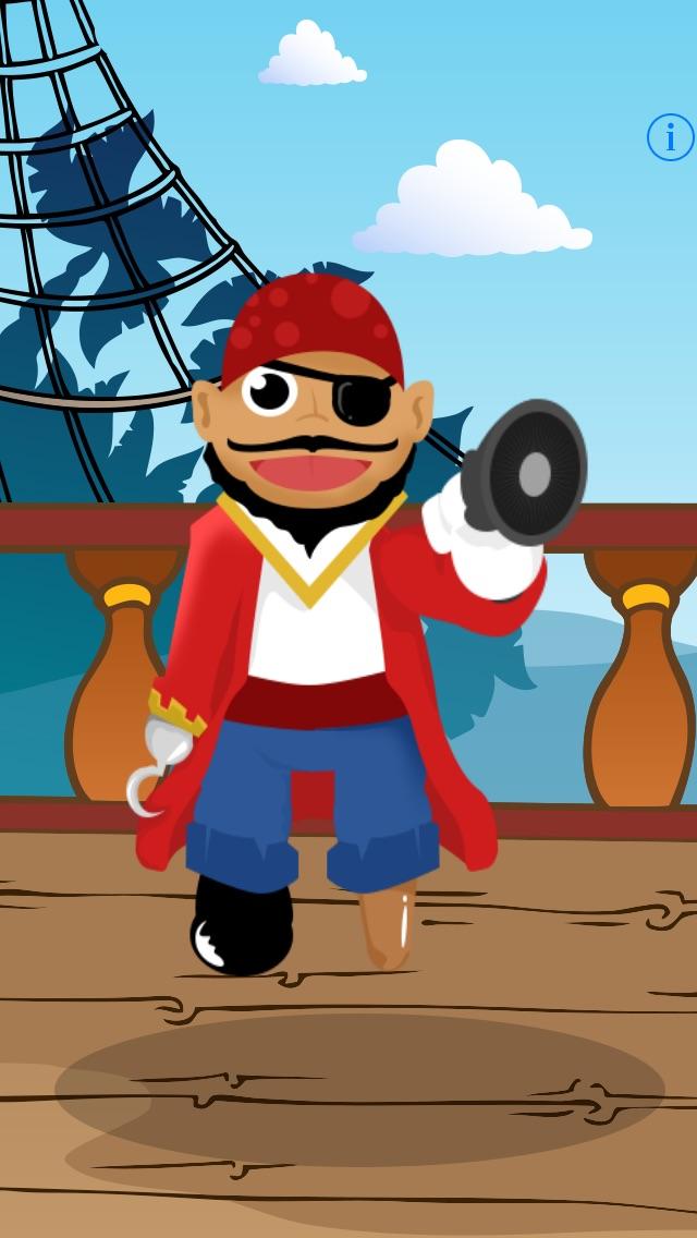 Sprechender Pirat - Talking Pirate: Spiel für Kinder, Eltern, Freunde und Familie mit Piraten!Screenshot von 2