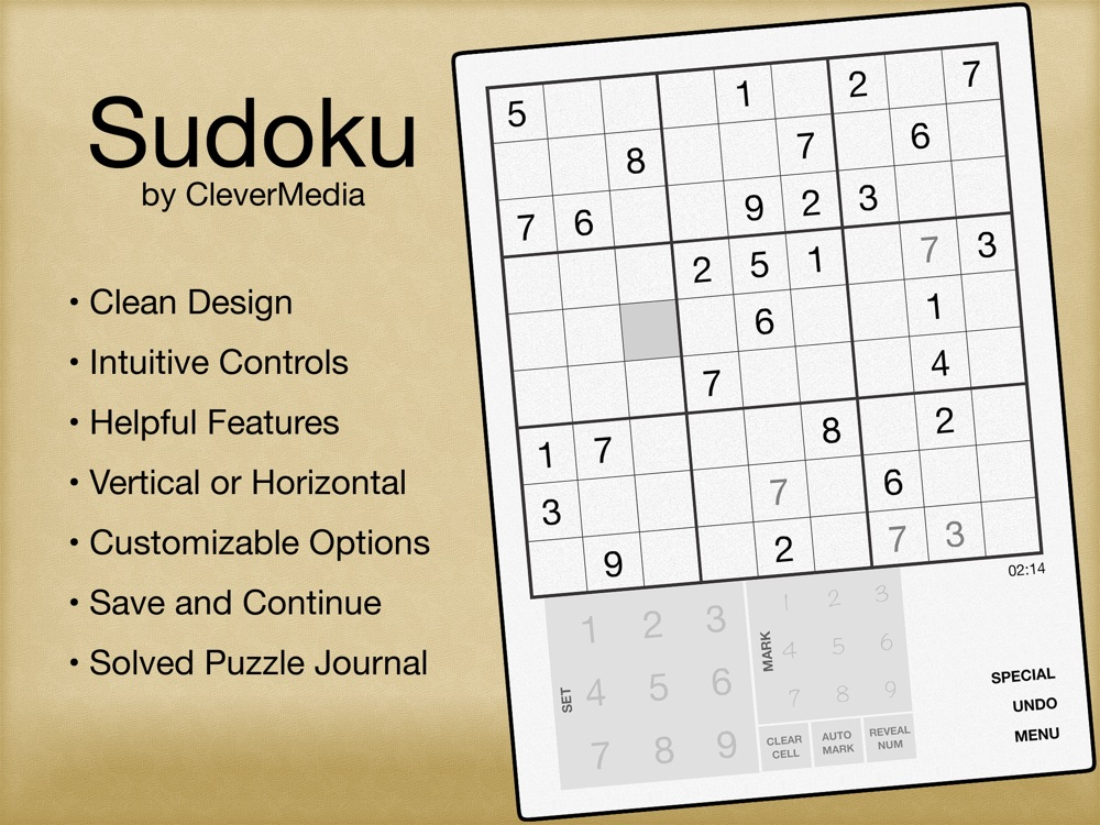Sudoku by CleverMedia Cheat Codes