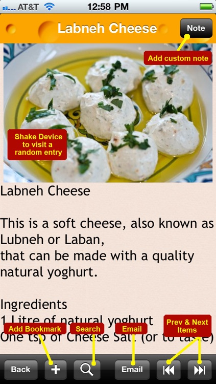 100 Homemade Cheese Recipes screenshot-4