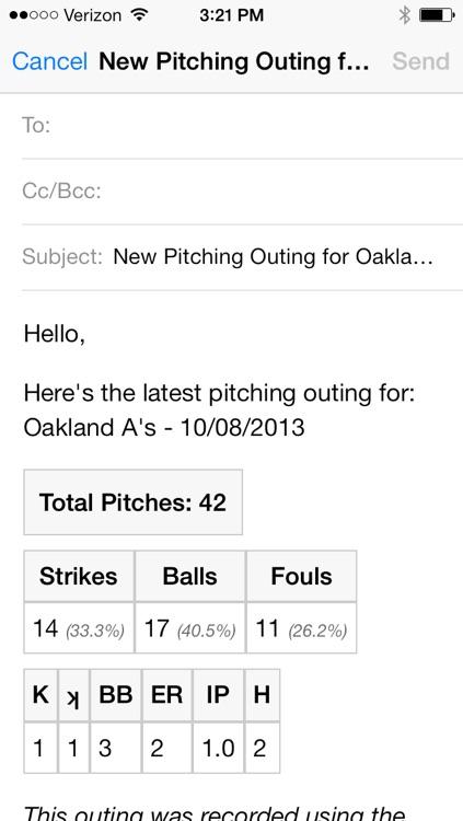 Bullpen - Baseball Pitch Counter App, Softball Pitch Count App, and Scorekeeping App