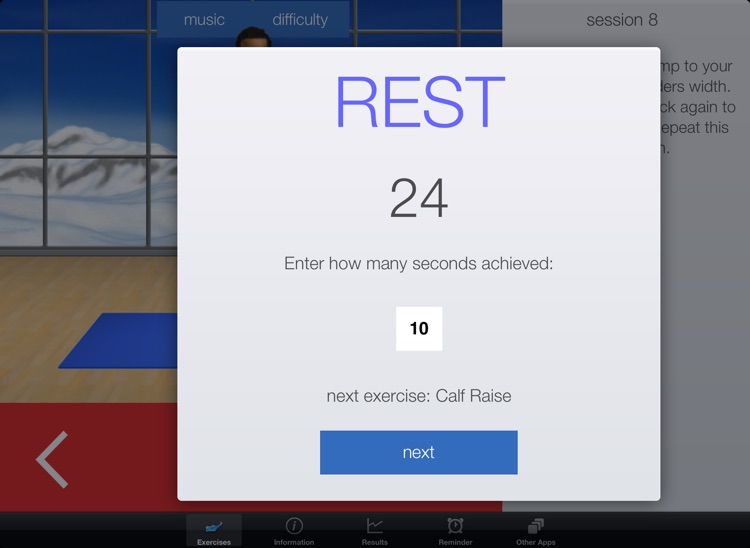 Snow Fitness Workouts HD - Ski & Snowboard exercises screenshot-1