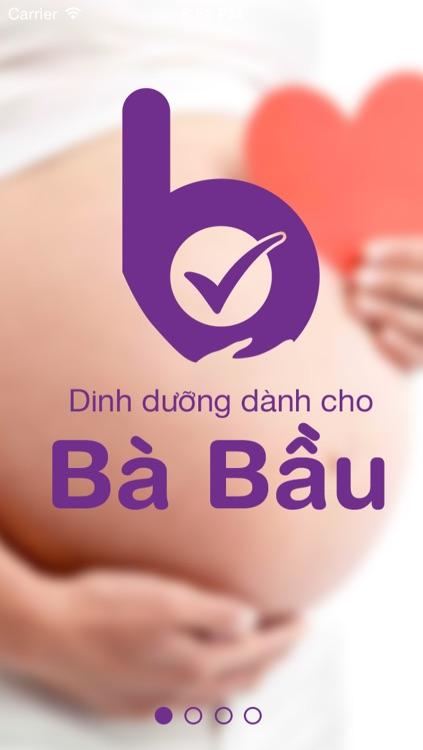 Ba Bau - Dinh dưỡng trong thai kỳ screenshot-3