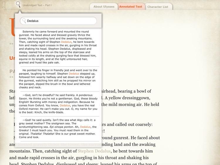 Joyce's Ulysses: A Guide screenshot-3