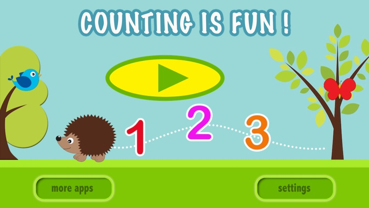 Counting is Fun ! -  Free Math Game To Learn Numbers And How To Count For Kids in Preschool and Kindergarten screenshot-4