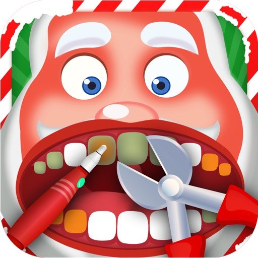 Christmas Santa Dentist icon