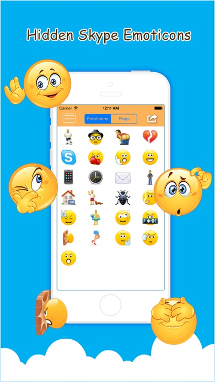 Hidden Emoticons & Top Secret Smileys for Skype