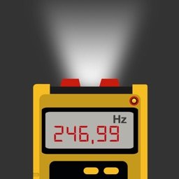 Strobe light ~ tachometer to measure RPM and vibrations