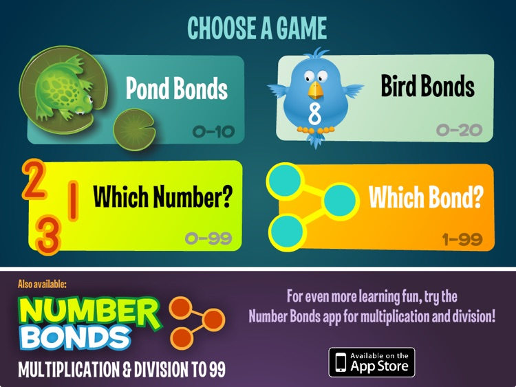Number Bonds: Addition & Subtraction to 99