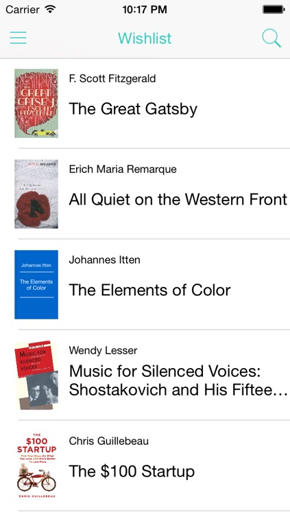 Reading List app screenshot-0
