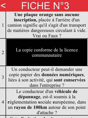 Ecrit Permis CE