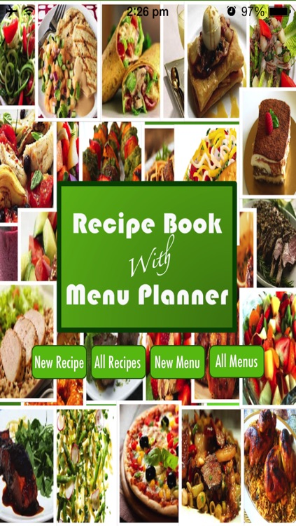 Recipe Book With Menu Planner screenshot-0