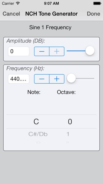 ToneGen Audio Tone Generator Free