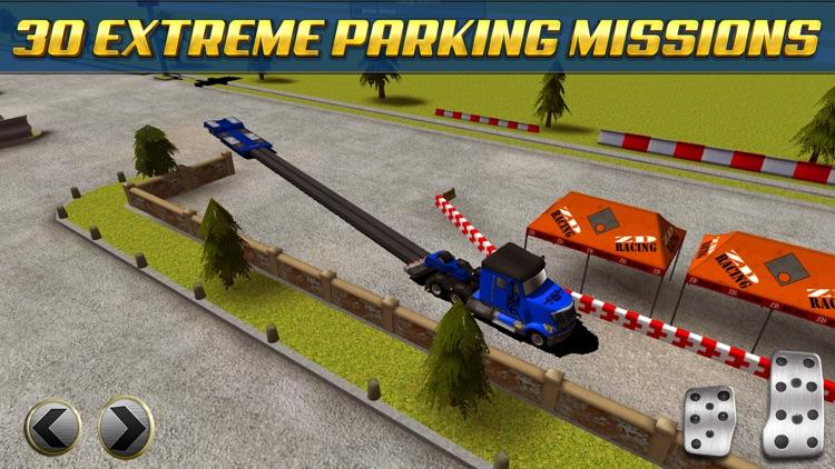 Extreme Truck Parking Simulator Game - Real Big Monster Car Driving Test Sim Racing Games screenshot-3