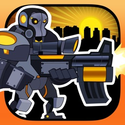A Real Army Steel Robot Sniper Clash FREE - Future Modern War Machine Survival