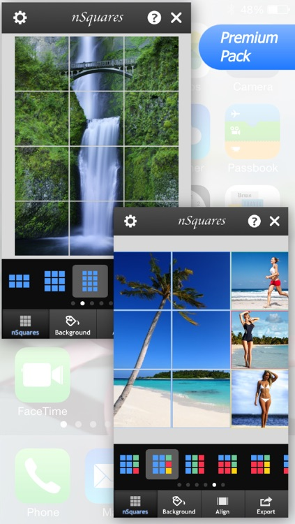 nSquares - Post photos in Square, Banner or Photo Grid Format on Instagram screenshot-4