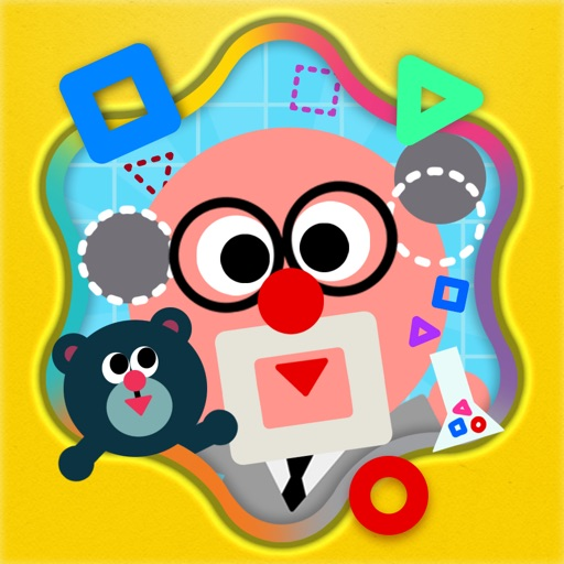 Shape the Village - Interactive Introduction on Circle, Triangle and Square for Kids icon