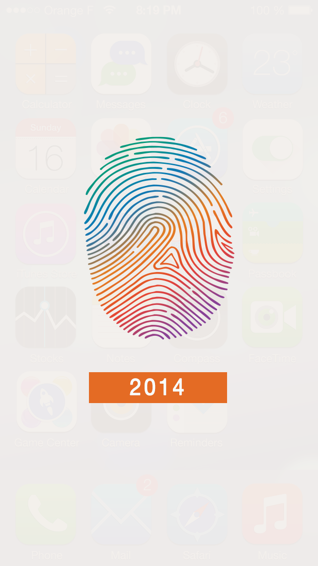 7+ for Touch ID, CarPlay & iOS 7のおすすめ画像1
