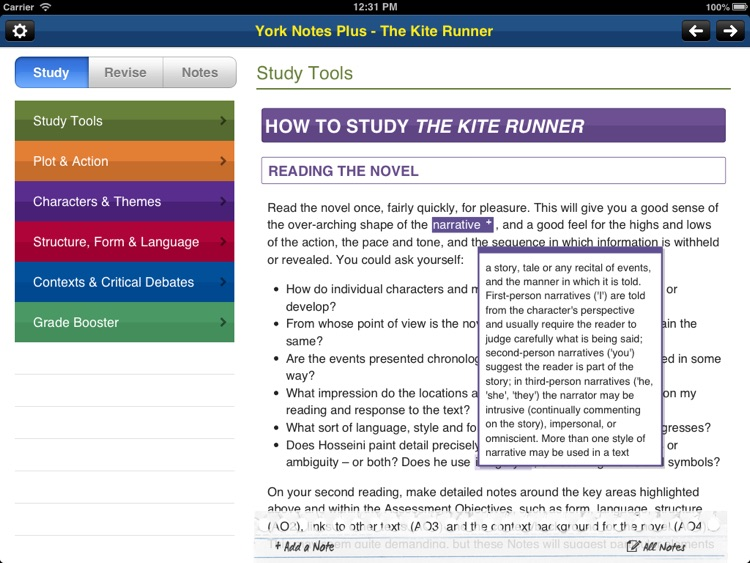 analytical essay kite runner