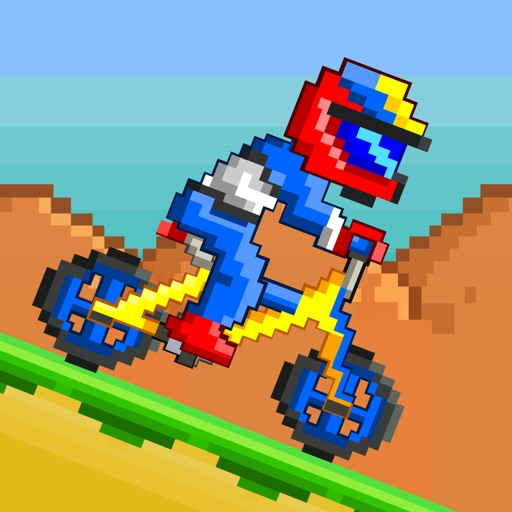 Bike Racers Game - Free 8-bit Pixel Retro Bikes Racing Games
