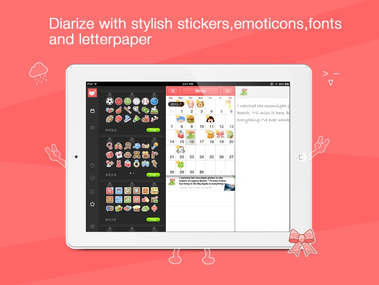 Journie - Diary - HD/Journal to Keep Note of Your Precious Moments and Days