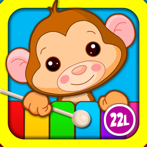 Abby Monkey® Musical Puzzle Games: Music & Songs Builder Learning Toy for Toddlers and Preschool Kids