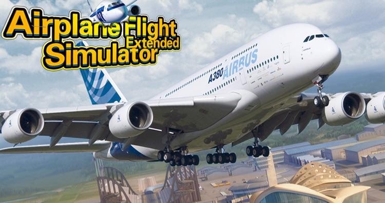 3D Plane Flight Fly Simulator